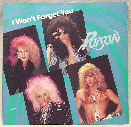 Poison - Your Mama Don't Dance / Look What The Cat Dragged In