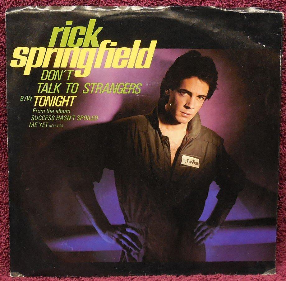 Rick Springfield - Bop 'Til You Drop
